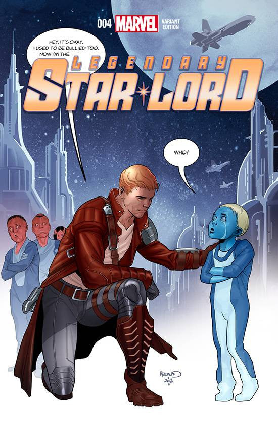 LEGENDARY STAR LORD #4 STOMP OUT BULLYING 1:15 VARIANT