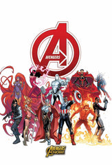 AVENGERS NOW BY PICHELLI POSTER