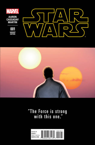 STAR WARS #1 CASSADAY TEASER VARIANT