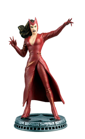 MARVEL CHESS FIGURE #29 SCARLET WITCH WHITE PAWN