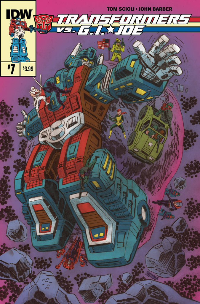 TRANSFORMERS VS GI JOE #7