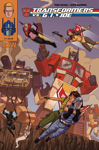 TRANSFORMERS VS GI JOE #7 SUBSCRIPTION VARIANT