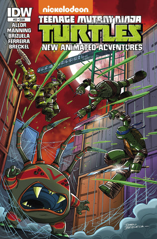 TMNT NEW ANIMATED ADVENTURES #22