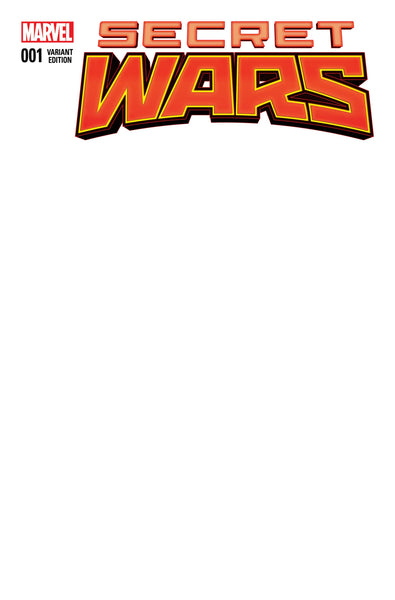 Marvel Comics BLANK VARIANT Cover Pack