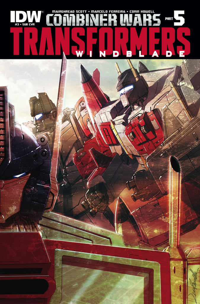 TRANSFORMERS WINDBLADE COMBINER WARS #3 SUBSCRIPTION VARIANT