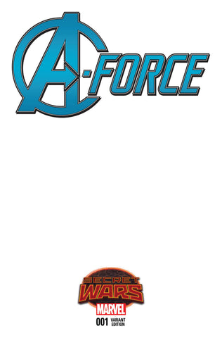 A-Force #1 Blank Variant Cover