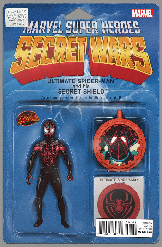 Ultimate End #1 Secret Wars Action Figure Variant Cover