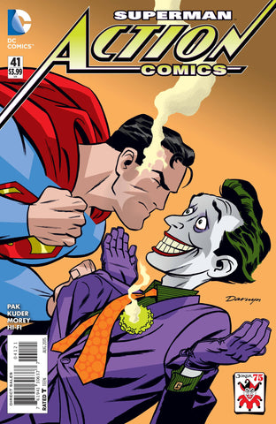 ACTION COMICS #41 THE JOKER VAR