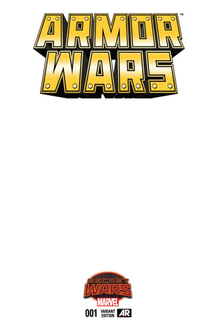 Armor Wars #1 Blank Variant Cover