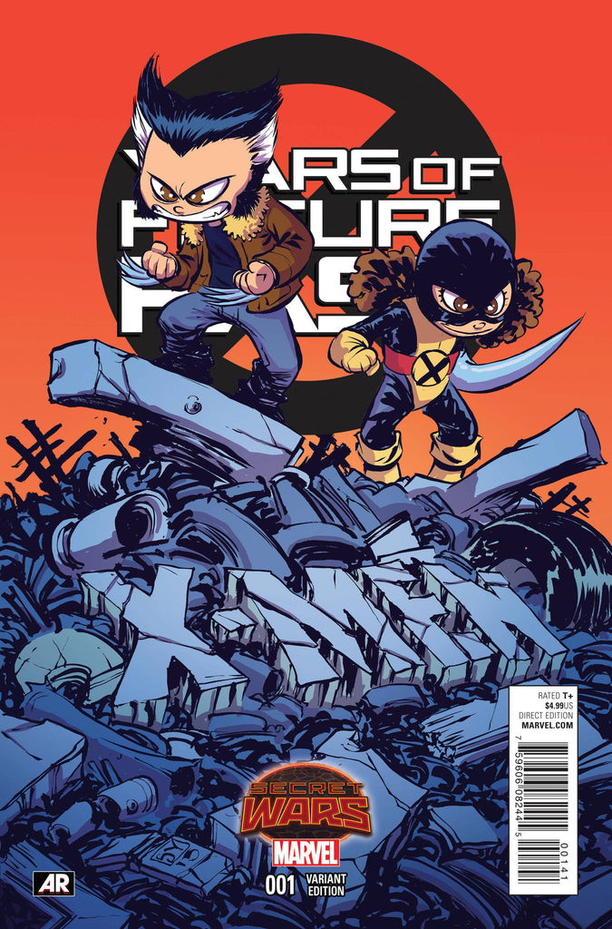 X-MEN YEARS OF FUTURE PAST #1 Skottie Young Variant