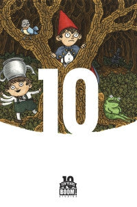 OVER THE GARDEN WALL #1 10 YEAR 1:10 Jeffrey Brown VARIANT