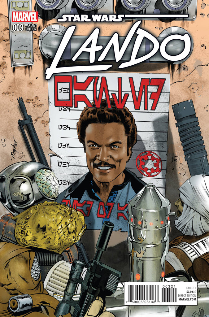 STAR WARS LANDO #3 (OF 5) MAYHEW VARIANT