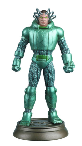 DC SUPERHERO CHESS FIGURE #92 METALLO BLACK PAWN