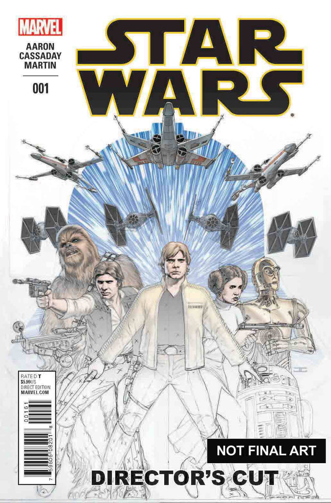 STAR WARS #1 DIRECTORS CUT VARIANT