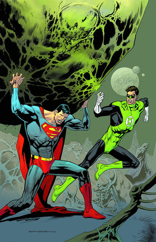 SUPERMAN #44 GREEN LANTERN 75 VAR