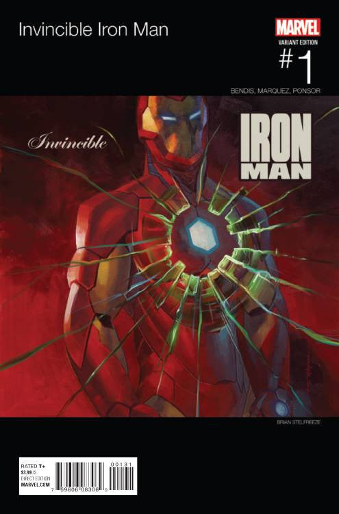INVINCIBLE IRON MAN #1 HIP HOP VARIANT