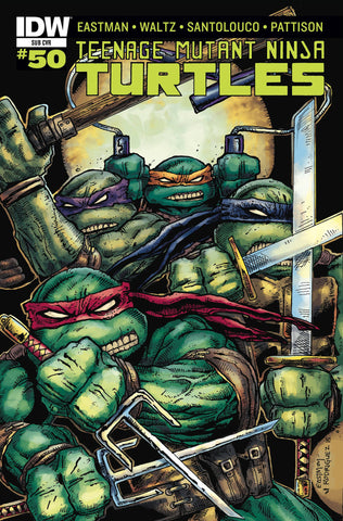 TMNT ONGOING #50 SUBSCRIPTION VARIANT