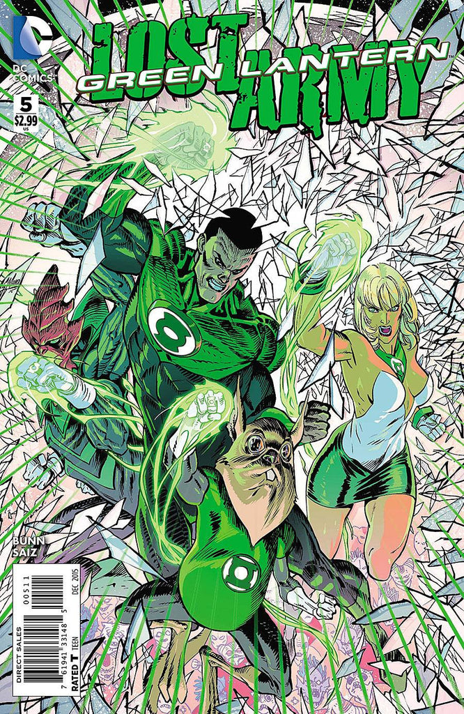 GREEN LANTERN THE LOST ARMY #5