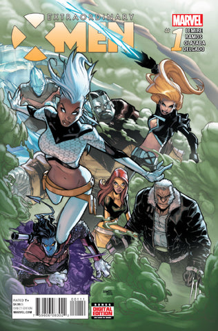 Extraordinary X-Men #1 ANAD