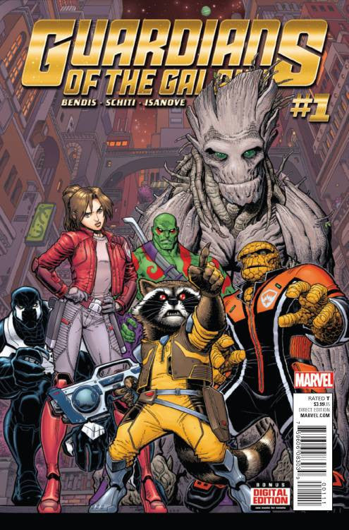 Guardians of the Galaxy #1 ANAD