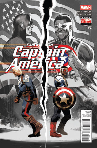 Sam Wilson Captain America #2