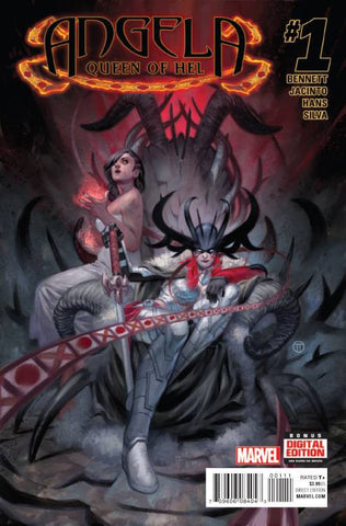 Angela Queen of Hel #1