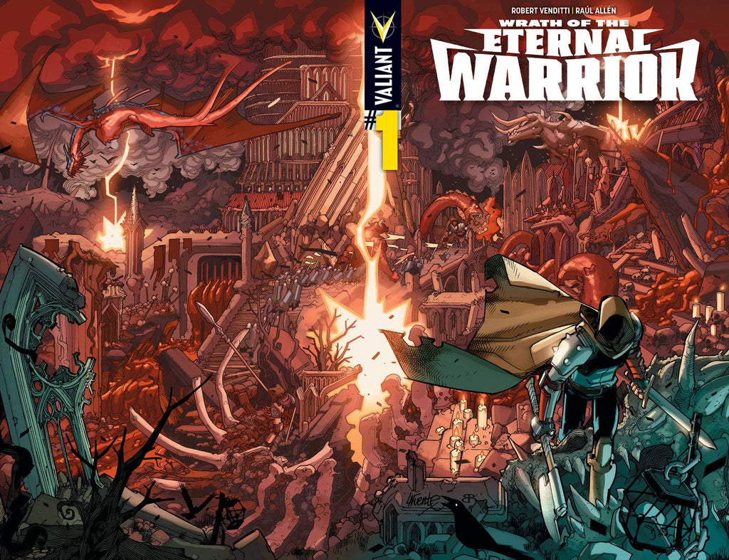 WRATH OF THE ETERNAL WARRIOR #1 CVR A WRAPAROUND LAFUENTE