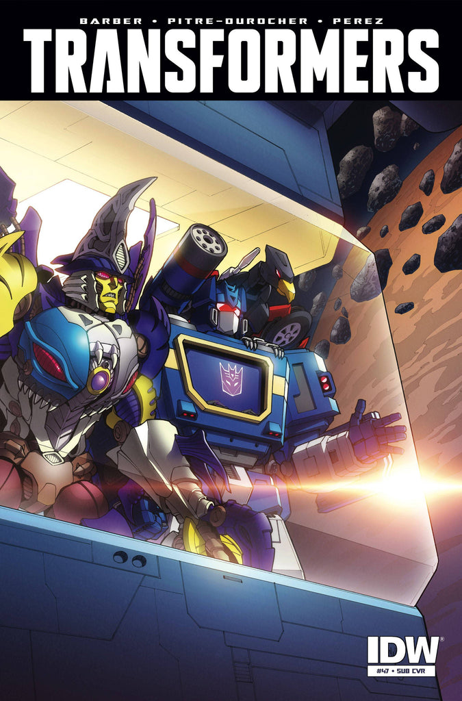 TRANSFORMERS #47 SUBSCRIPTION VARIANT