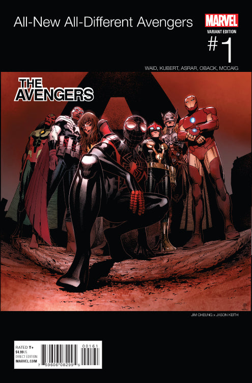 ALL-NEW ALL DIFFERENT AVENGERS #1 HIP HOP VARIANT