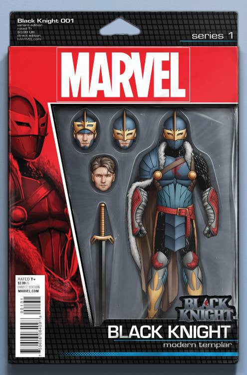 Black Knight #1 Action Figure Variant Cover