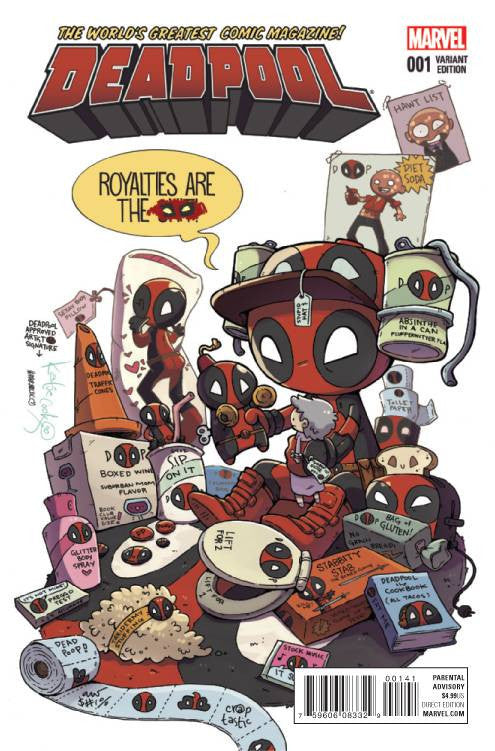DEADPOOL #1 COOK VARIANT