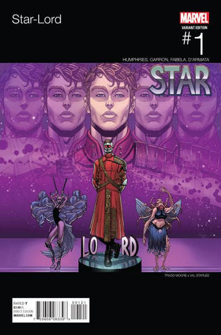 STAR-LORD #1 MOORE HIP HOP VARIANT