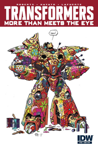 Transformers More Than Meets The Eye #48 Sub Cover