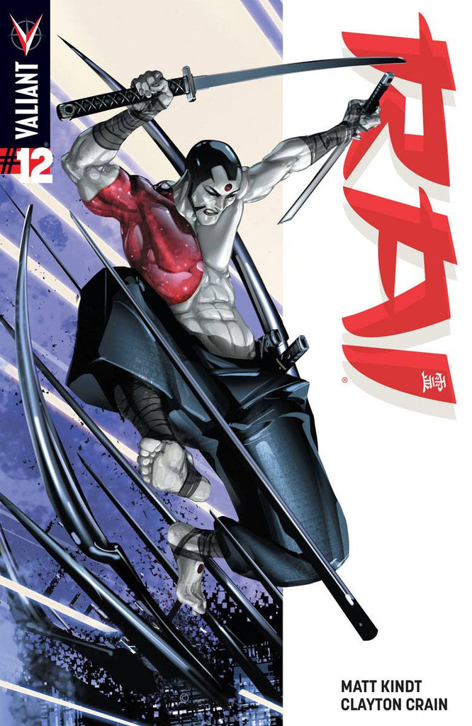 Rai #12 Cover A Interlocking Crain