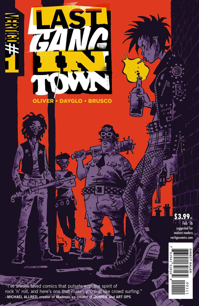 LAST GANG IN TOWN #1 (OF 6)
