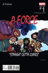 A-FORCE #1 ADAM HUGHES HIP HOP VARIANT