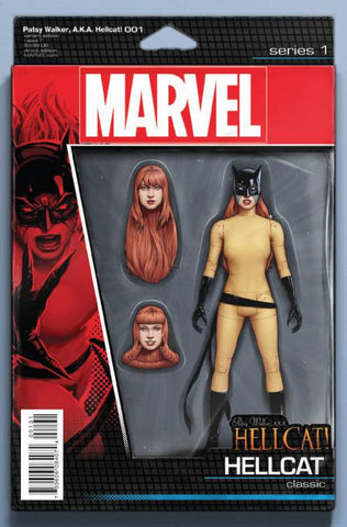 PATSY WALKER, A.K.A. HELLCAT #1 CHRISTOPHER ACTION FIGURE VARIANT