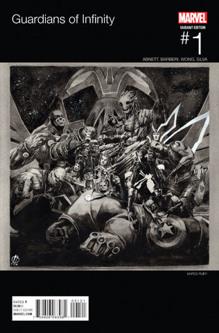 GUARDIANS OF INFINITY #1 RUDY HIP HOP VARIANT