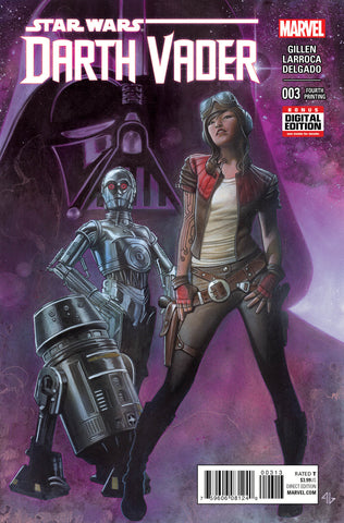 DARTH VADER #3 GRANOV 4TH PTG PURPLE VARIANT