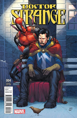 DOCTOR STRANGE #4 DEADPOOL VARIANT