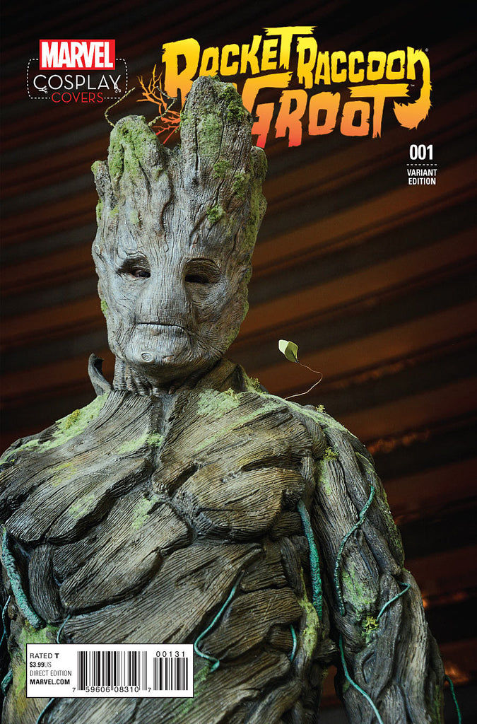 ROCKET RACCOON AND GROOT #1 COSPLAY VAR