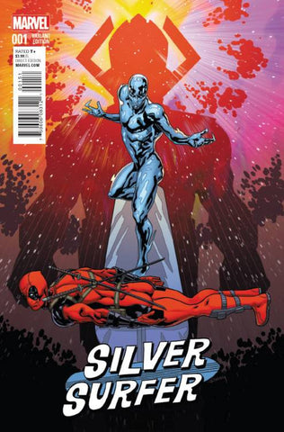 SILVER SURFER #1 SLINEY DEADPOOL VARIANT