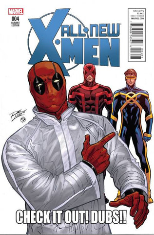 ALL NEW X-MEN #4 LIM DEADPOOL Variant
