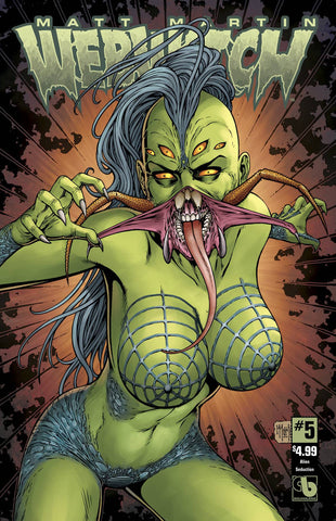 Webwitch #5 Alien Seduction cover