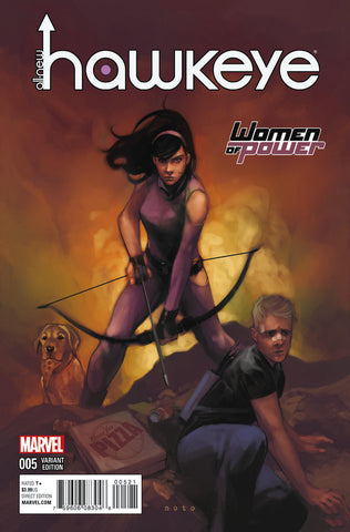 ALL NEW HAWKEYE #5 WOMEN OF POWER VARIANT
