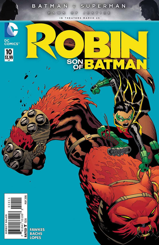 Robin Son of Batman #10