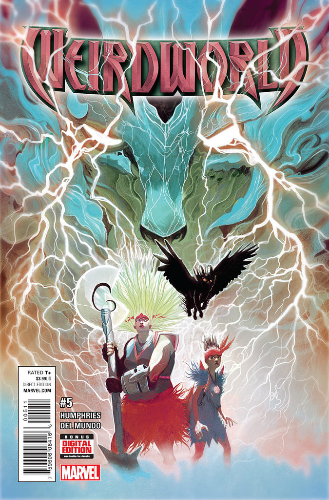 WEIRDWORLD ANAD #5