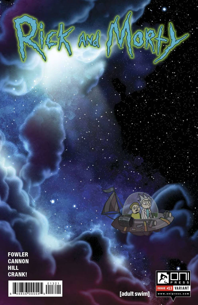 Rick and Morty #13 Incentive Cover Green