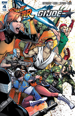 Street Fighter X G.I. Joe #4