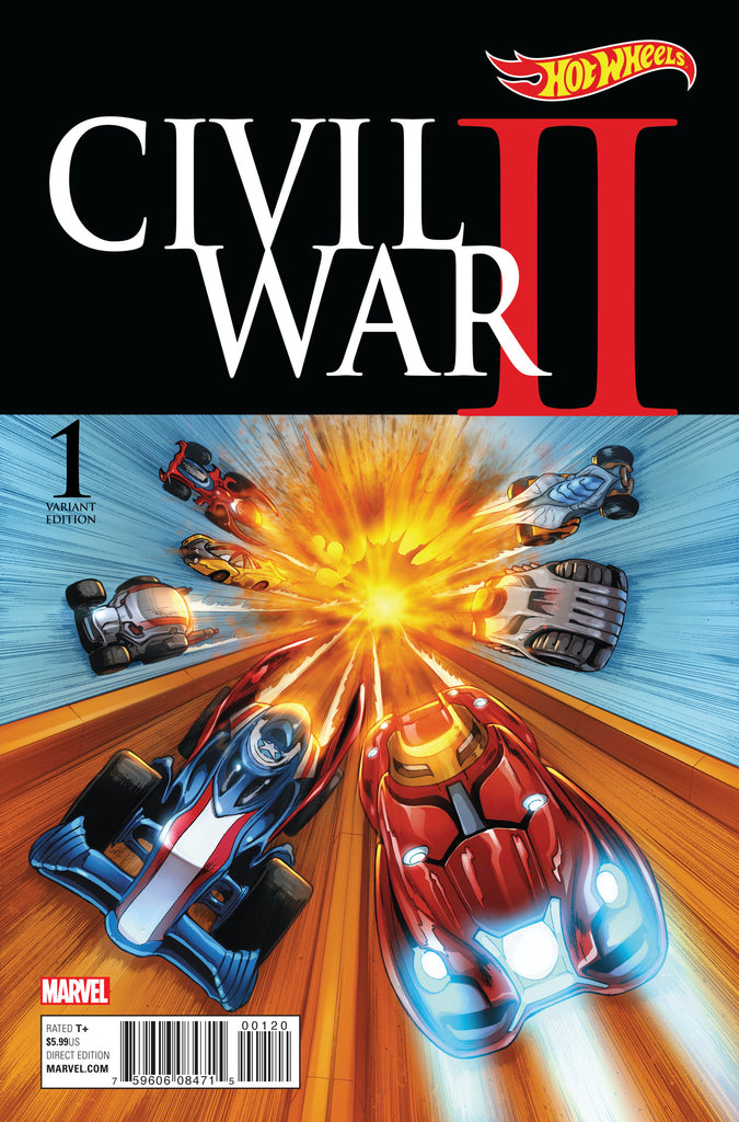 CIVIL WAR II #1 Mattel Hotwheels Variant